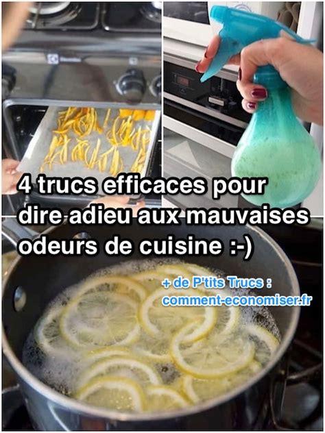 enlever odeur de cuisine 4 trucs efficaces pour dire adieu aux mauvaises odeurs de cuisine