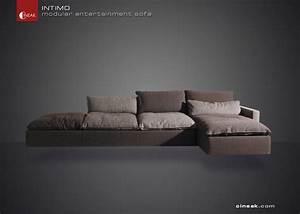 cineak intimo modular entertainment sofa modern With modern sectional sofa san francisco