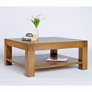 nevada square chunky wooden coffee table buy coffee With chunky square coffee table