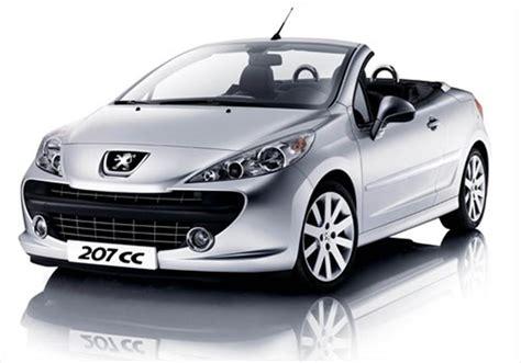 auto peugeot peugeot 207 cc 2013