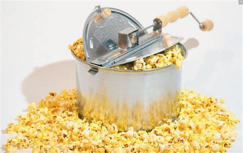 popcorn pop popper whirley stovetop gift silver poppers round plus stove guide cup whirly 2009 corn popping air giveaways foodies