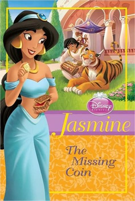 jasmine  missing coin disney princess chapter books  sarah nathan reviews discussion