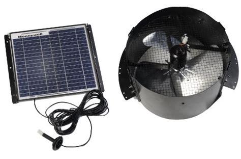 best solar gable fan roof mounted exhaust fans honeywell 527shon103blk 12 watt