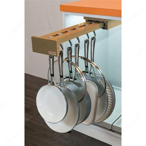 pull out pot rack pot racks with blum slides richelieu hardware