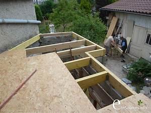 AUTOCONSTRUCTION : Réalisation d'un toit plat végétal Ecosources