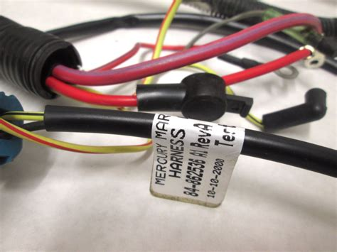 84 862536 mercury engine wiring harness assembly outboard 1998 no melted wires ebay
