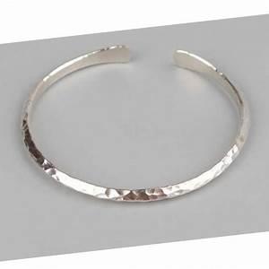 Bracelet En Argent Homme : bracelet jonc martel en argent 925 forme triangle bijou homme detail de mode ~ Carolinahurricanesstore.com Idées de Décoration