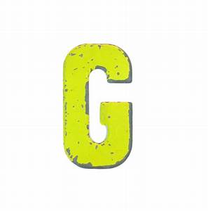 7 1 2 rustic vintage metal letter g marquee signage With metal marquee letter g