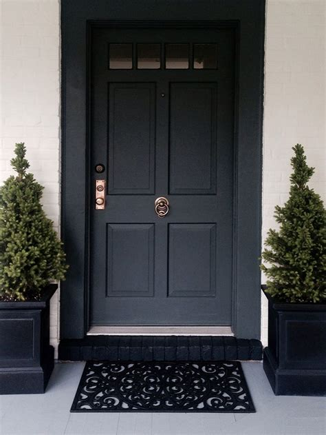 Great Black Front Door Handles with Best Front Door