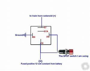 Wiring Diagram For Air Horn Relay 44653 Ciboperlamenteblog It