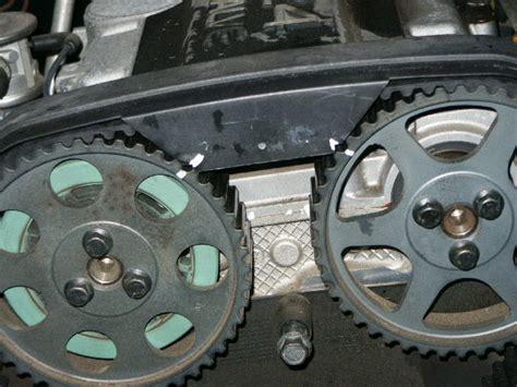 water pump work  timing belt hoopla