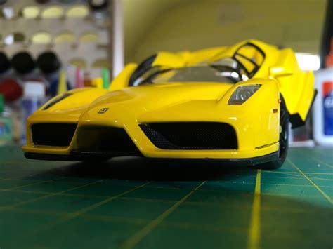 Tamiya 1/24 ferrari enzo (yellow). Tamiya 1/24 Ferrari Enzo | Scale models, Ferrari enzo, Ferrari