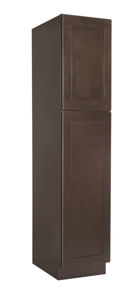 """Brookings 18"""" Pantry Cabinet, Espresso Shaker #562371. Redoing Kitchen Cabinets. Kitchen Layout On One Wall. Modular Kitchen Wood Material. Johnson Kitchen Tiles Catalogue. Kitchen Breakfast Room Extensions. Kitchen Pantry Buy. White Kitchen Layouts. Awesome Kitchen Curtains"""