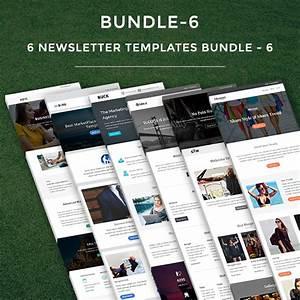 6 newsletter templates bundle 6 pennyblack templates With mymail newsletter templates