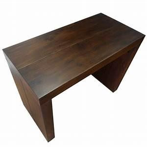 But Console Extensible : console extensible en bois massif weng 50 200 cm 10 personnes ~ Teatrodelosmanantiales.com Idées de Décoration