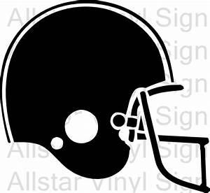 football helmet stencil group 58 With football helmet letter decals