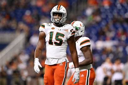 Quincy Football Roche Miami Rousseau Gregory Hurricanes