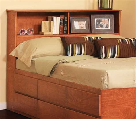 Bookcase Headboards For King Size Beds Briansautomotivenet