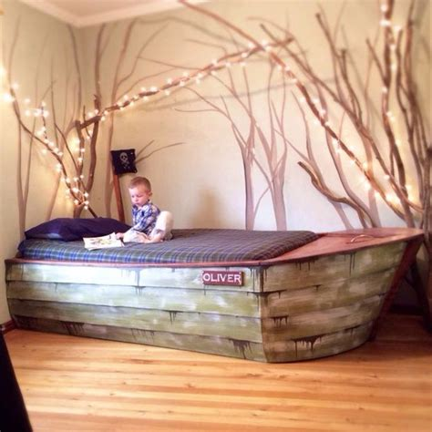 Child S Boat Bed Plans by 39 Diy Bed Frames That Will Give You A Comfortable Sleep
