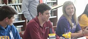 St. James recognizes 11 student-athletes at spring signing ...