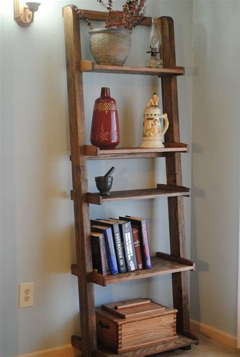 Ladder Bookcase Plans by Ladder Bookshelf Plans Woodworking Projects Plans