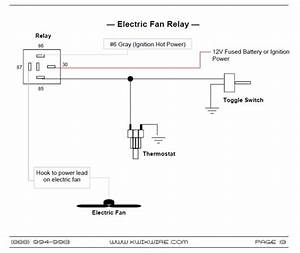 Help Wiring Dual Electric Fans     Takeover Project