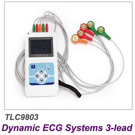 Contec TLC9803 ECG Recorder Monitor Portable Cable Heart