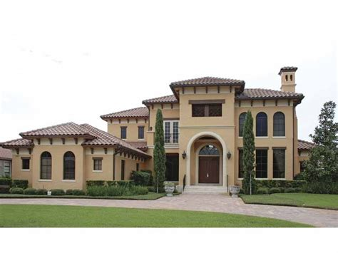 mediterranean house mediterranean modern house plan with 5921 square and