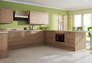 cuisine moderne et bois le bois chez vous With cuisine moderne en bois