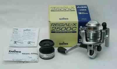Reel Santec Wizard 2000 spinning reel daiwa regal x 2500c spool box parts