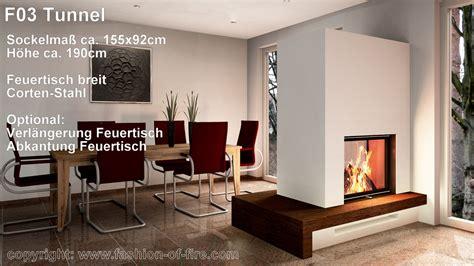Fashion Of Fire F03 Tunnelkamin Mit Brunner Kamineinsatz
