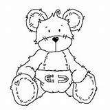 Coloring Diaper Bear Month Surprise Mid Inspiration Uncolored Challenges Template Printable Bears Stamps Digi Roger Printables Dibujos Pattern Clipart Digital sketch template