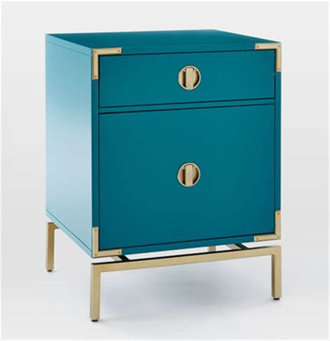 Teal Nightstand by Blue Teal Malone Caign Nightstand Everything Turquoise