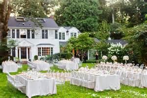 garden wedding memorable wedding a simple outdoor wedding