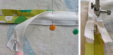 zippered throw pillows sewing tutorial