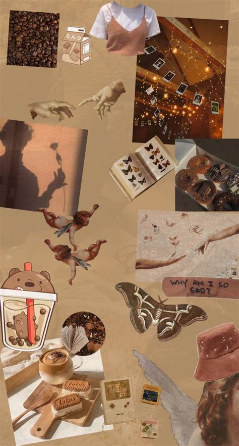 brown aesthetic wallpaper by armony