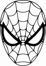Spiderman Drawing Pages Face Coloring Spider Man Mask Printable Clipart Clip Clipartmag Drawings Getdrawings Cake Paintingvalley sketch template