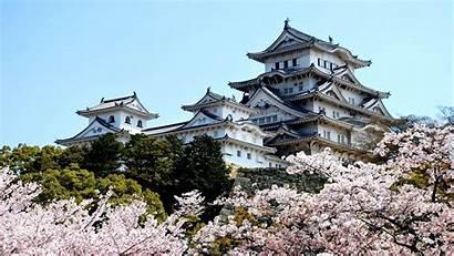 Himeji Castle Japan Castles Japanese Background Wallpapers