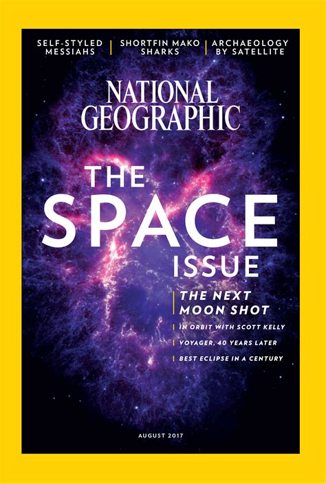National Geographic Magazine, August 2017 National