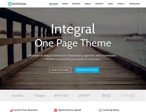 20+ Free Parallax Wordpress Themes 2018
