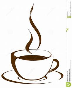 Steaming Coffee Cup Clipart