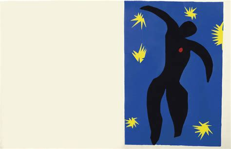 Henri Matisse (1869-1954) , Icare, From Jazz