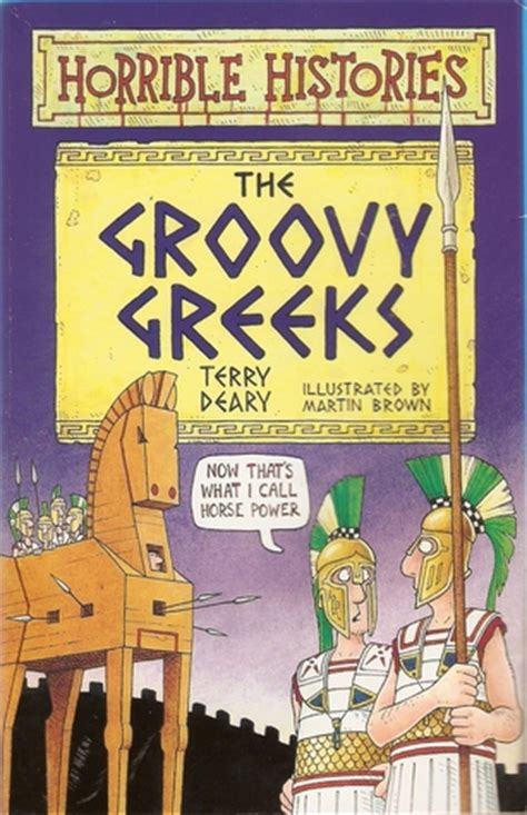 groovy greeks  terry deary reviews discussion