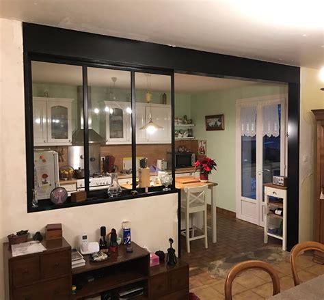 ouverture cuisine sur sejour ouverture mur cuisine salon maison design bahbe com
