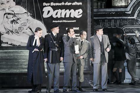 Der Besuch der alten Dame  Programm  Theater an der Wien