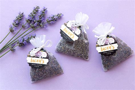 diy lavender bridal shower favors wedding inspiration