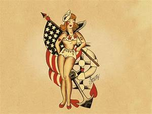 Pin Sailor Jerry Desktop Hula Girl Thisnext on Pinterest