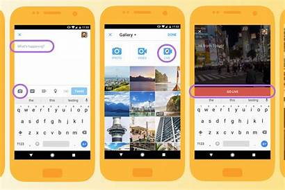 App Broadcast Periscope Streaming Within Update Its