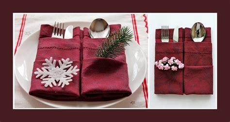 Servietten Als Bestecktasche Falten by Servietten Falten Bestecktasche Tischdekoration