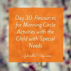 days  morning circle activities   child